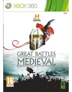 HISTORY GREAT BATTLES MEDIEVAL for Xbox 360