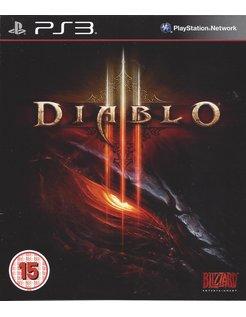 DIABLO III (3) for Playstation 3 PS3