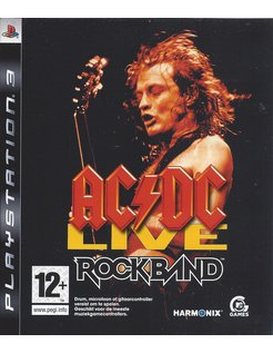 ROCK BAND AC/DC LIVE voor Playstation 3 PS3