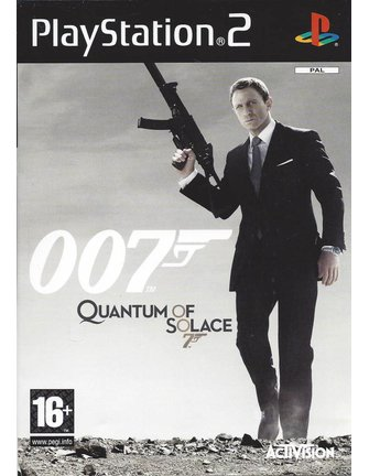 007 QUANTUM OF SOLACE für PlayStation 2 PS2
