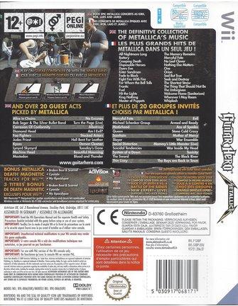 GUITAR HERO METALLICA für Nintendo Wii