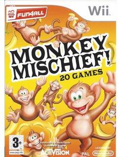 MONKEY MISCHIEF - 20 GAMES voor Nintendo Wii