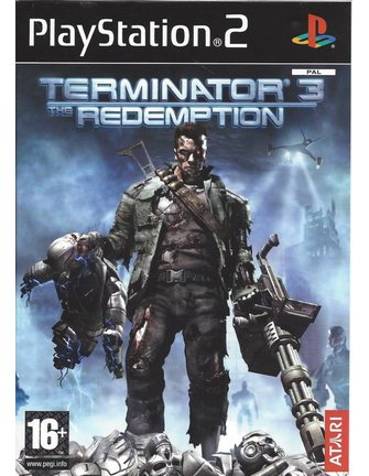 TERMINATOR 3 THE REDEMPTION for Playstation 2 PS2