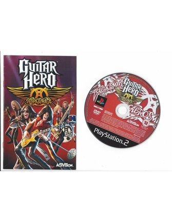 GUITAR HERO AEROSMITH voor Playstation 2 PS2