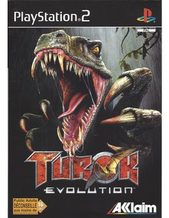 TUROK EVOLUTION voor Playstation 2 PS2