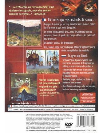 TUROK EVOLUTION for Playstation 2 PS2
