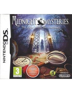 MIDNIGHT MYSTERIES THE EDGAR ALLEN POE CONSPIRACY for Nintendo DS