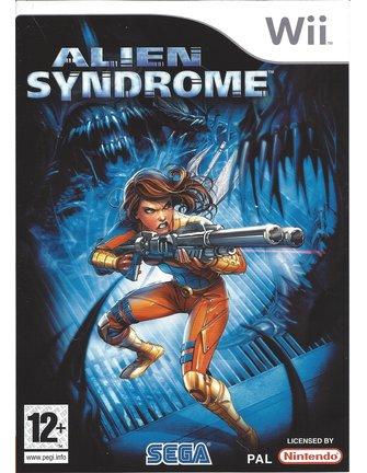 ALIEN SYNDROME voor Nintendo Wii