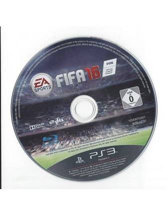 FIFA 16 for Playstation 3 PS3