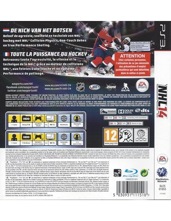 NHL 14 for Playstation 3 PS3