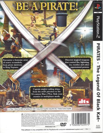 PIRATES LEGEND OF BLACK KAT für Playstation 2 PS2