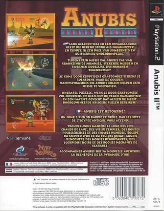 ANUBIS II (2) voor Playstation 2 PS2