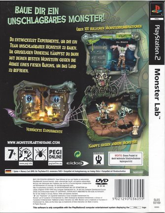 MONSTER LAB für Playstation 2 PS2