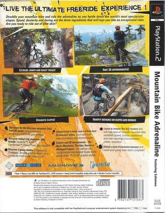 MOUNTAIN BIKE ADRENALINE voor Playstation 2 PS2