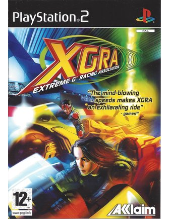 XGRA EXTREME G RACING ASSOCIATION für Playstation 2 PS2 - Anleitung in EN