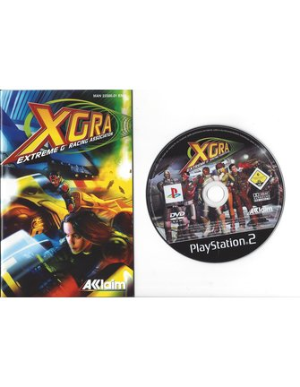 XGRA EXTREME G RACING ASSOCIATION voor Playstation 2 PS2 - manual in EN