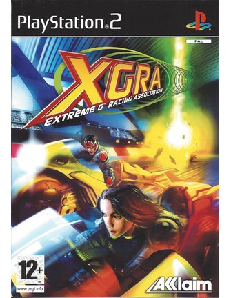 XGRA EXTREME G RACING ASSOCIATION voor Playstation 2 PS2 - manual in NL