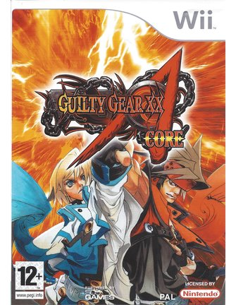 GUILTY GEAR CORE for Nintendo Wii