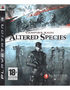 VAMPIRE RAIN ALTERED SPECIES voor Playstation 3 PS3