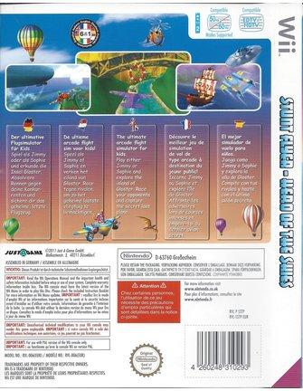 STUNT FLYER HERO OF THE SKIES voor Nintendo Wii