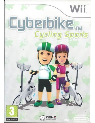 CYBERBIKE CYCLING SPORTS for Nintendo Wii