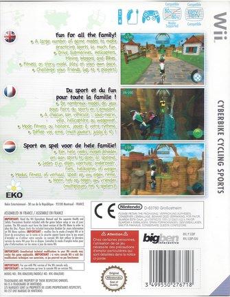 CYBERBIKE CYCLING SPORTS voor Nintendo Wii