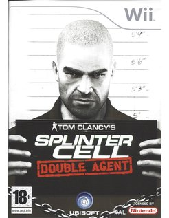 SPLINTER CELL DOUBLE AGENT voor Nintendo Wii