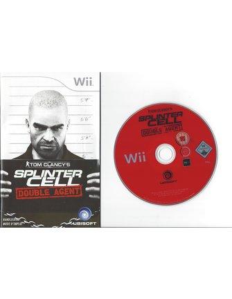 SPLINTER CELL DOUBLE AGENT voor Nintendo Wii