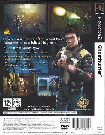 GHOST HUNTER GHOSTHUNTER voor Playstation 2 PS2