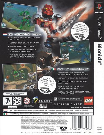 LEGO BIONICLE for Playstation 2 PS2