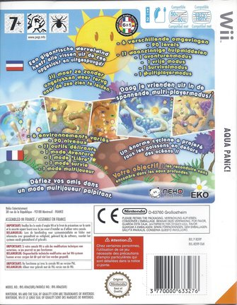 AQUA PANIC for Nintendo Wii