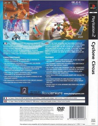 CYCLONE CIRCUS voor Playstation 2 PS2