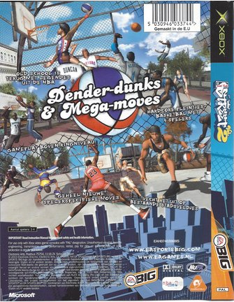 NBA STREET VOL. 2 for Xbox