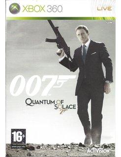 007 QUANTUM OF SOLACE voor Xbox 360