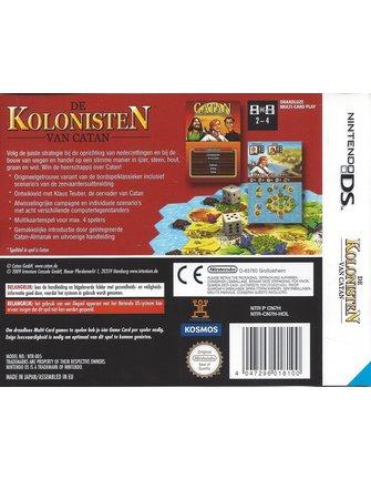 DE KOLONISTEN VAN CATAN voor Nintendo DS