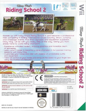 MARY KING'S RIDING SCHOOL 2 for Nintendo Wii