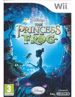 THE PRINCESS AND THE FROG voor Nintendo Wii