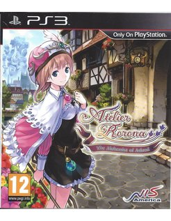 ATELIER RORONA THE ALCHEMIST OF ARLAND voor Playstation 3 PS3
