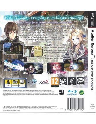 ATELIER RORONA THE ALCHEMIST OF ARLAND für Playstation 3 PS3