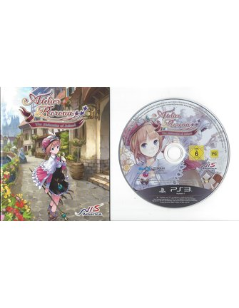 ATELIER RORONA THE ALCHEMIST OF ARLAND for Playstation 3 PS3