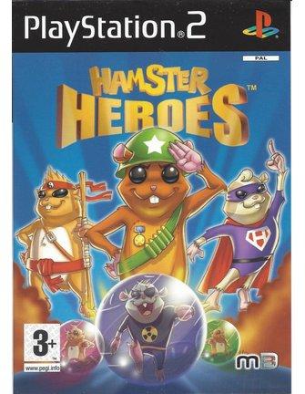 HAMSTER HEROES voor Playstation 2 PS2