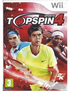 TOP SPIN 4 für Nintendo Wii