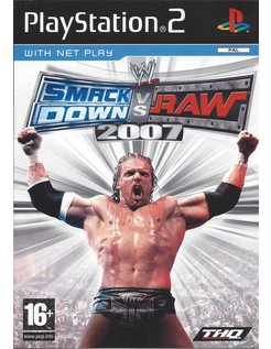 WWE SMACKDOWN VS RAW 2007 voor Playstation 2 PS2