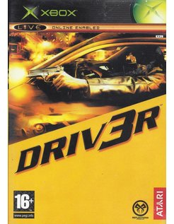 DRIV3R DRIVER 3 voor Xbox