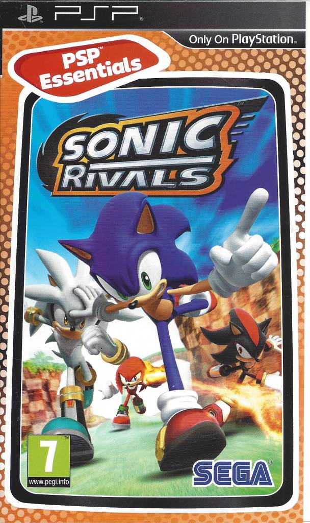 Sonic Rivals For Playstation Portable Psp Worldwide Shipping Fast Dispatch Passion For Games