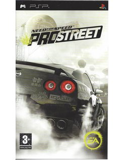 NEED FOR SPEED PROSTREET voor PSP