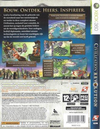 CIVILIZATION REVOLUTION voor Xbox 360