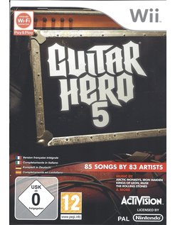 GUITAR HERO 5 voor Nintendo Wii