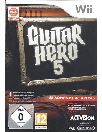 GUITAR HERO 5 für Nintendo Wii