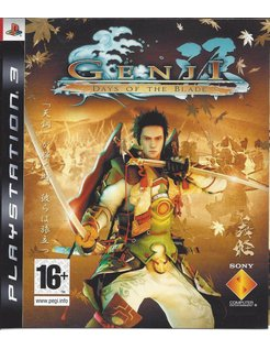 GENJI DAYS OF THE BLADE for Playstation 3 PS3